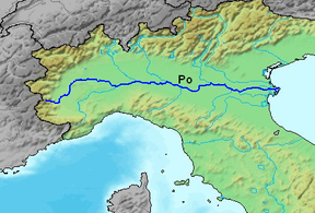 Amalia Ks Roman Empire Map ThingLink - Map of ancient rome po river